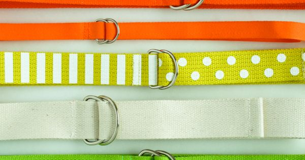 Make you own Neon belts and step into spring with some color!