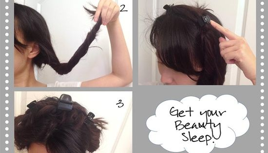 Blog site with several cute hair style tutorials with step by step