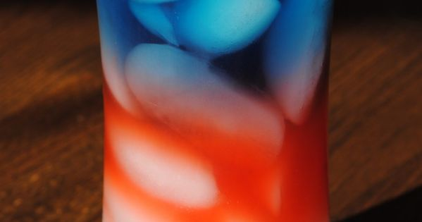 Cute Food For Kids?: 4th of July Layered Drink: Sobe Pina Colada,