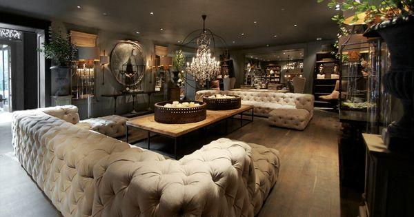 Restoration Hardware Living Room Inspiration And