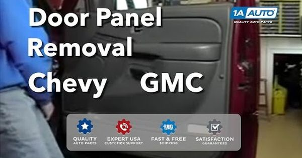 How To Install Replace Remove A Door Panel Chevy Silverado Gmc Sierra 03 06 Buy Auto Parts At 1aauto Youtube Panel Doors Paneling How To Remove