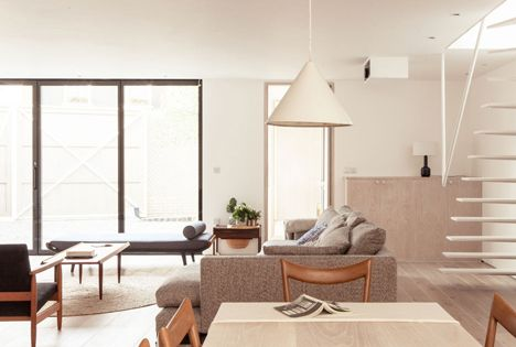 Perfect Color Texture Mix Herringbone House By Atelier Chanchan