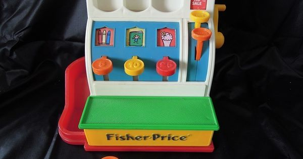 caisse enregistreuse jouet vintage fisher price toys pinterest vintage fisher price and. Black Bedroom Furniture Sets. Home Design Ideas