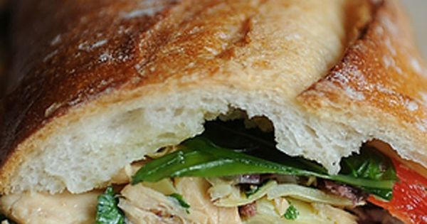 Le French Tuna Salad Sandwich | Comida | Pinterest