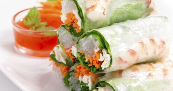 Rollitos comida vietnamita cocina asiatica recetas - Comodas orientales ...