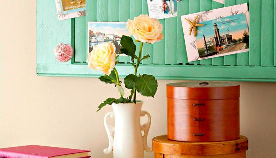 cute idea on how to make wall art out of an old