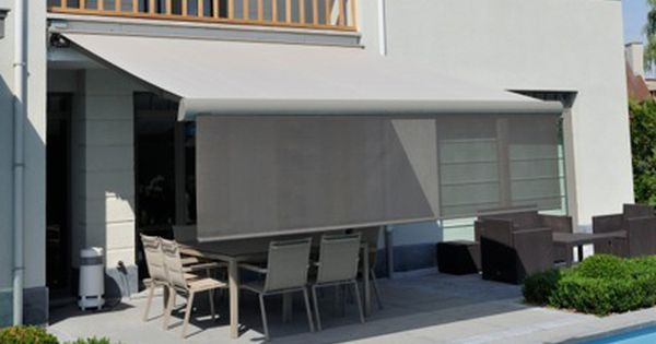 Some Retractable Awnings Are Designed With A Front Retractable Screen  Valance That Can Be Lowered For
