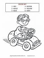Color By Number Coloring Pages Learning Colors Coloring Pages Color