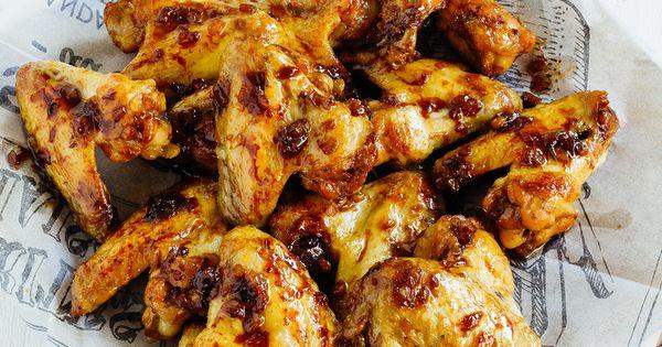 Alitas picantes de pollo en adobo receta salsa recetas and mugs - Adobo de alitas de pollo ...