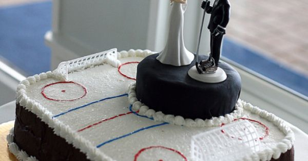 Hockey Cake If This Were Made Out Of Carvel Ice Cream Cake It Would Be Jeffs