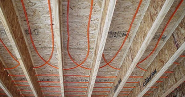 Hydronic Radiant Heating Mountain Architects Hendricks Hydronic Radiant Heat Radiant Heat Radiant Floor Heating