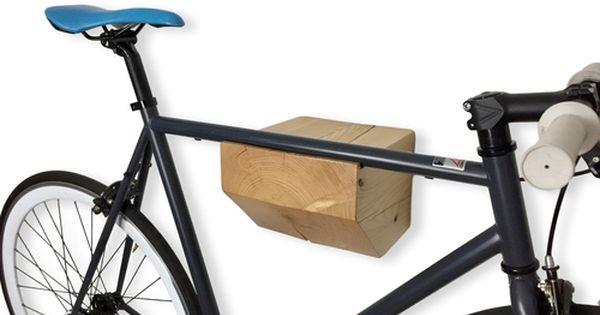 Timber Bike Rack With Images Wall Mount Bike Rack Bike Storage Modern Bike Storage