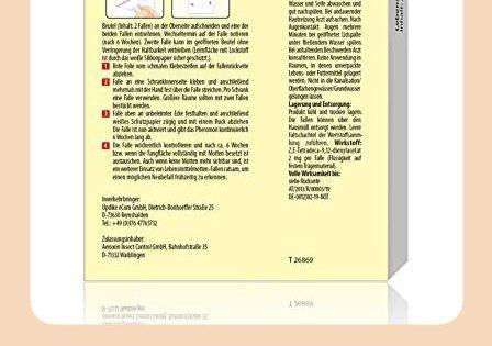 Pic Lebensmittel Mottenfalle Dreierpack 6 Stuck Mittel Zur Bekampfung Und Schutz Vor Motten In Der Kuc In 2020 Motten In Der Kuche Mottenfalle Lebensmittelmotten