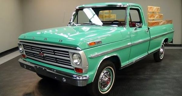 1968 Ford F100 Ranger 360 V8 Fresh Restoration Very Nice Youtube Ford Classic Cars Ford Trucks Ford Pickup