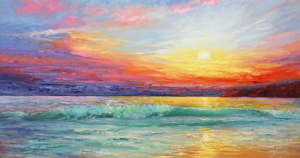 Smile Of The Sunrise Painting - Smile Of The Sunrise Fine Art