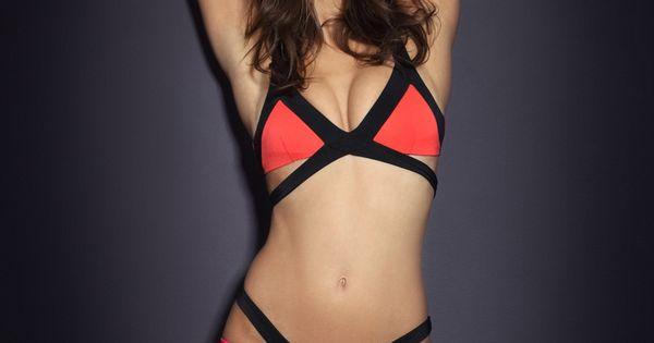 Agent Provocateur Bathing suit: Mazzy Bikini Bra