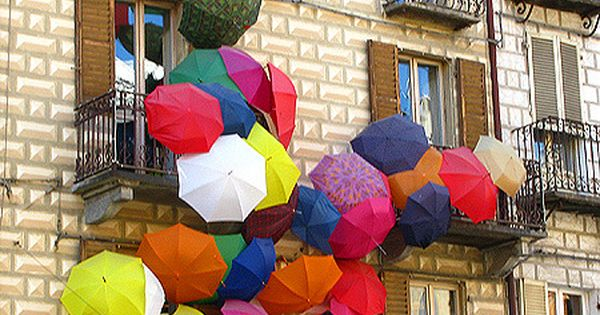 Umbrella Rain by Marco Pece