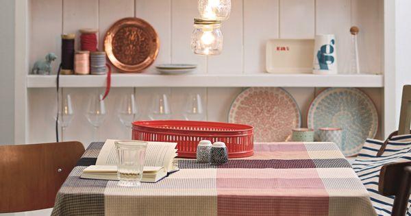 praktische deko idee mit etwas geschick k nnt ihr eine lampe aus einmachgl sern selber machen. Black Bedroom Furniture Sets. Home Design Ideas