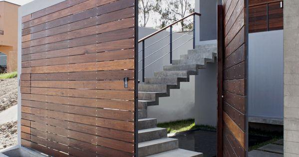 PH3 House by T38 studio - like the door swivel.