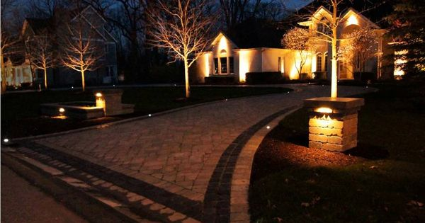driveway / post lighting ideas | Courtyard | Pinterest | Ideas, Driveway  lighting and Posts