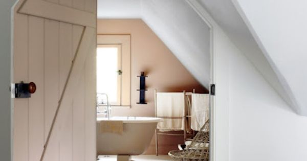 Check out the door!! attic bath from tsoa & mcknown architects via