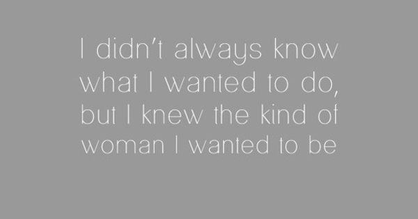Diane Von Furstenberg. / so, so true.