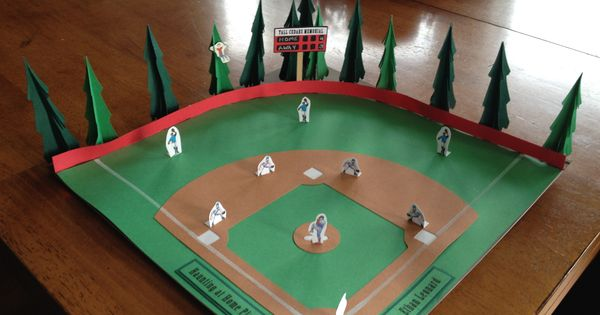 Baseball Project For A Book Report Kids School Projects