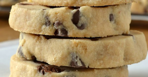 Chocolate Chip Shortbread Cookies | Cookies | Pinterest | Shortbread ...