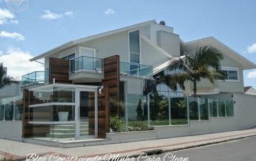 fachadas de casas com vidro : Construindo Minha Casa Clean: Fachadas de Casas com Muros de Vidro ...