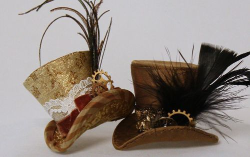 Madeleine Rose Couture-Steampunk Hat Tutorial - don't think I could make this