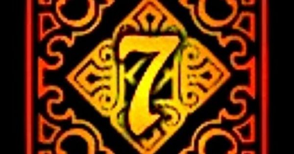 7 Number Of Luck Seven Logo Lucky 7 Number 7