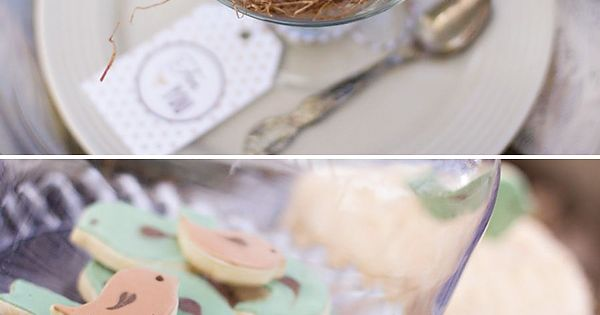 "bird themed baby shower | Baby Showers > Gender Neutral > ""Bless"