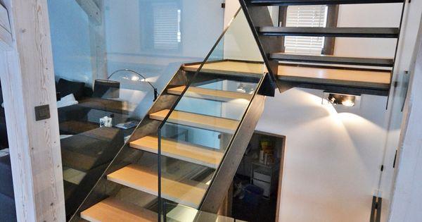 Escalier habitat escalier double limon kolateral for Habitat minimaliste
