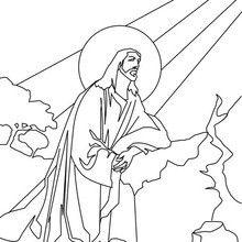 Dibujo Para Colorear Jesus En El Monte De Los Olivos Dibujos Paginas Para Colorear Dibujos Para Colorear