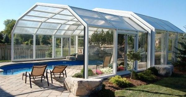 Retractable pool enclosure what a phenomenal idea new home build pinterest pool enclosures Retractable swimming pool enclosures