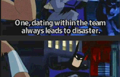 No dating for the batman