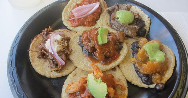 Guisados East La Taco Sampler Tacos Chicken Mole Food