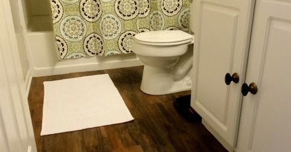 Lowes Antique Woodland Oak Flooring Peel And Stick Vinyl Perfect For Bathroom Our