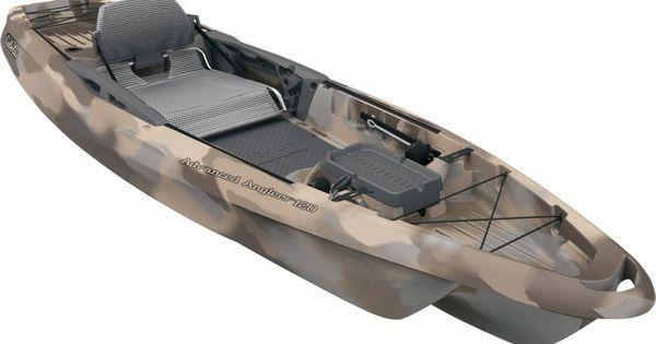 Cabela 39 s advanced anglers 120 fishing kayak kayaks for Bass fishing accessories