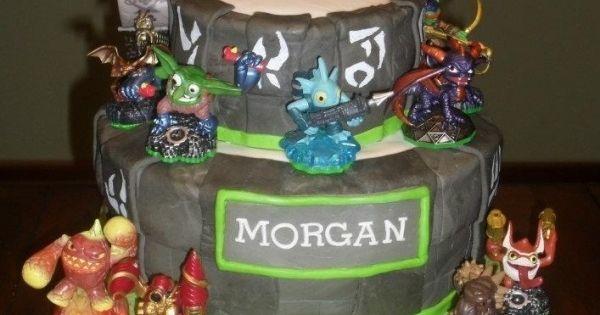 Skylander Birthday Cake - Skylander Cake
