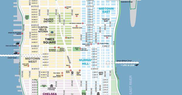 manhattanstreetsandavenuesmustseeplacesnewyorktoptourist – Printable Map of Nyc Streets