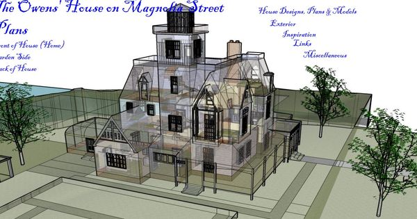Owens house plans film practical magic house for Practical house plans