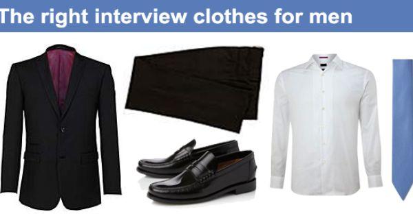 Job Interviewing Clothes For Men Men Job Interview