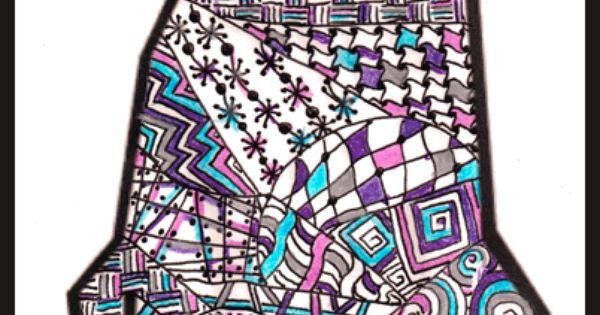 Clip Art Dog Zentangle Stuff Dog Art And Maybe A Few