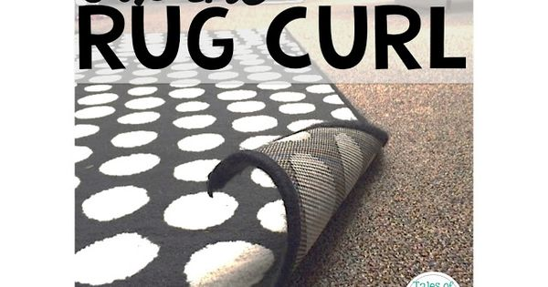how to fix rugs that curl