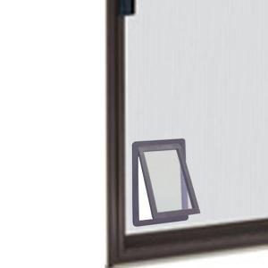 Ideal Pet 8 875 In X 10 5 In Medium Screen Fit Dog And Pet Door For Screen Door Sfpd The Home Depot Pet Screen Door Screen Door Pet Door