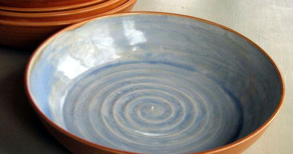 Handmade Stoneware Pasta Bowls Stoneware Pasta Bowls