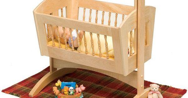 Pendulum Doll Cradle - Downloadable Plan | Woodworking ...