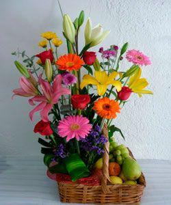 Diseño De Arreglos Florales цветы и фрукты Arreglos