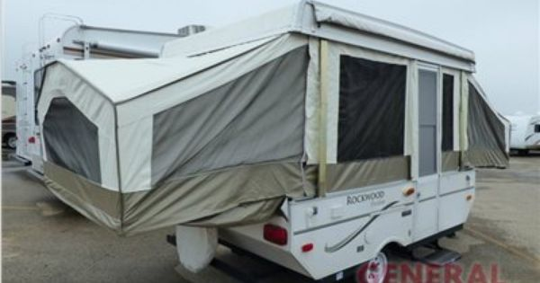 Used 2008 Rockwood Freedom 1940 Ltd Folding Pop Up Camper Pop Up Camper Rockwood Camper